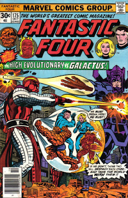 Fantastic Four #175, High Evolutionary vs Galactus