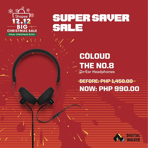 Coloud The No. 8 Headphones at Php990