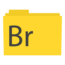 Preview of yellow, bookmark, folder icon