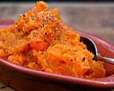 Rustic Mashed Sweet Potatoes & Carrots