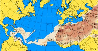 Desde mañana jueves 29 septiembre se espera calima en Canarias hasta el día 1 de octubre