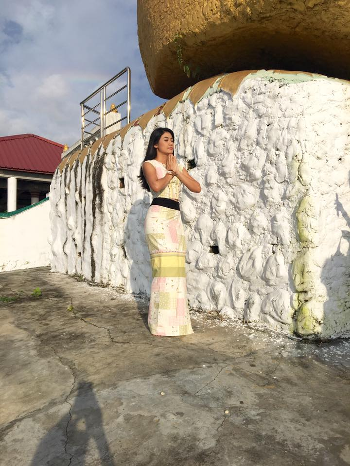 Thinzar Wint Kyaw In Myanmar Dress