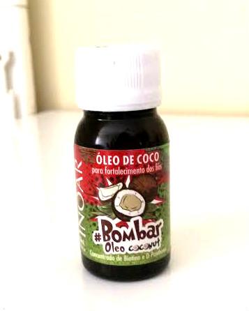 oleo de coco coconut bombar inoar