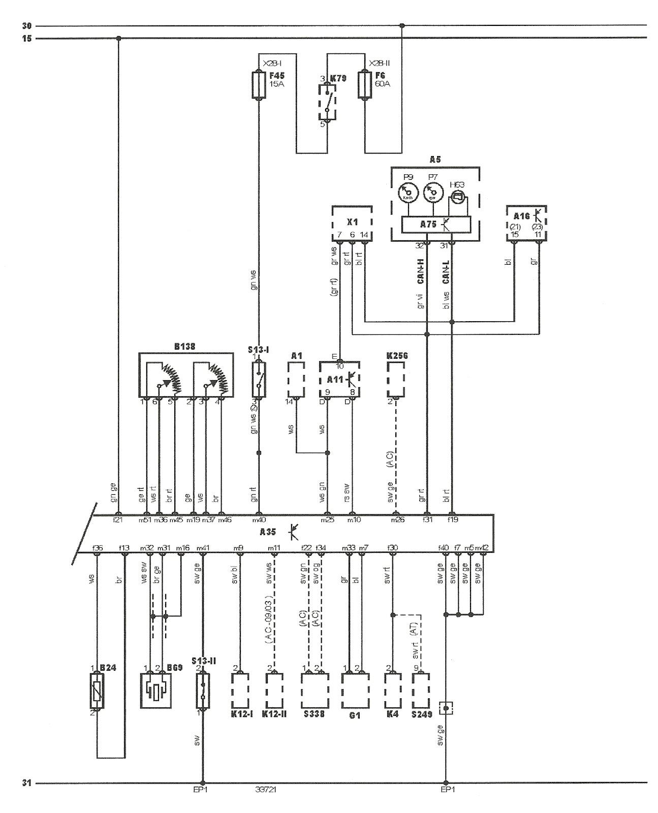 diagrama de ford ka