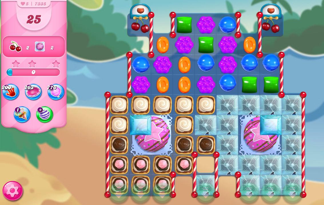 Candy Crush Saga level 7335