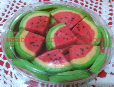 Foto Resep Kue Kering Semangka Sederhana Spesial Asli Enak