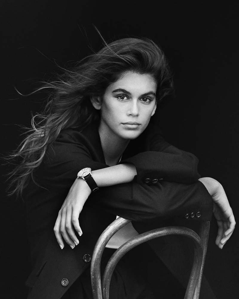 Kaia Gerber steps into mother's footsteps as Omega ambassador