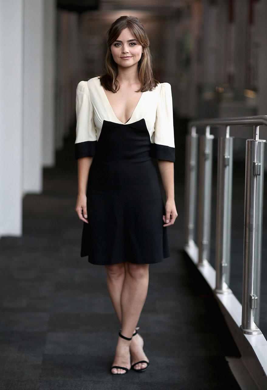 Beautiful Jenna Coleman Doctor Who Wallpaper Doctor Who Wallpaper