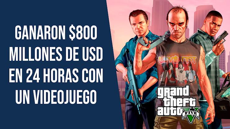 La historia de GTA V, el videojuego más vendido del mundo
