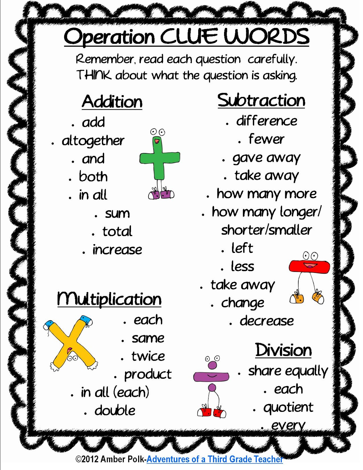 Math Words And Pictures 30