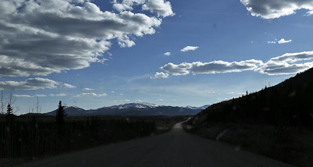 Alaska Highway to the north