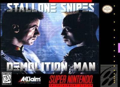 Rom de Demolition Man em PT-BR - SNES - Download
