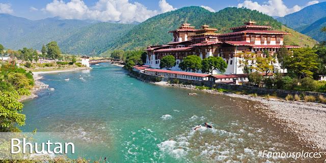 tourist destination in bhutan