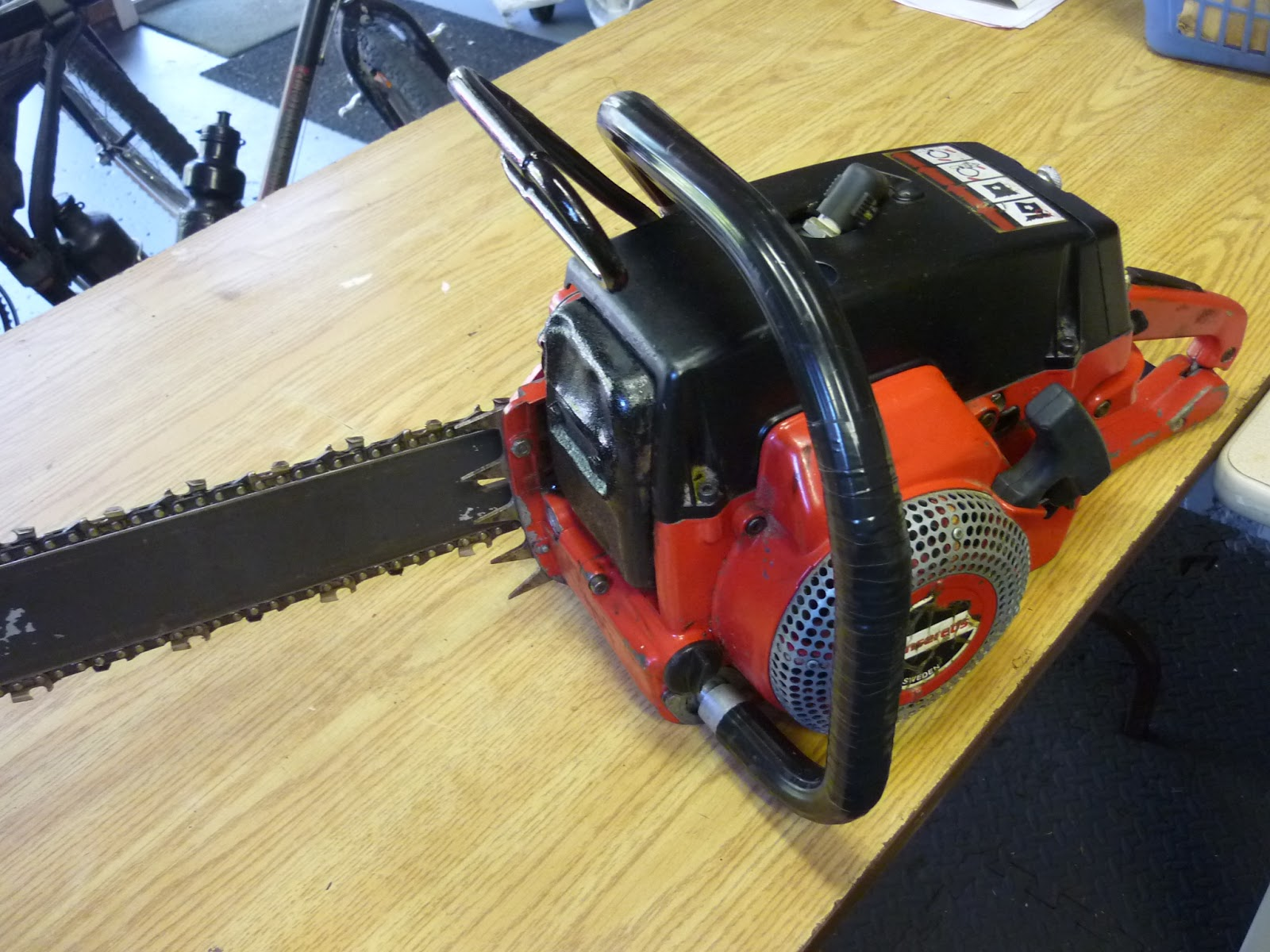 Vintage Chainsaw Collection Jonsered 801