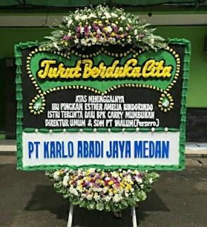 Karangan Bunga di Sepanjang Jaya Bekasi