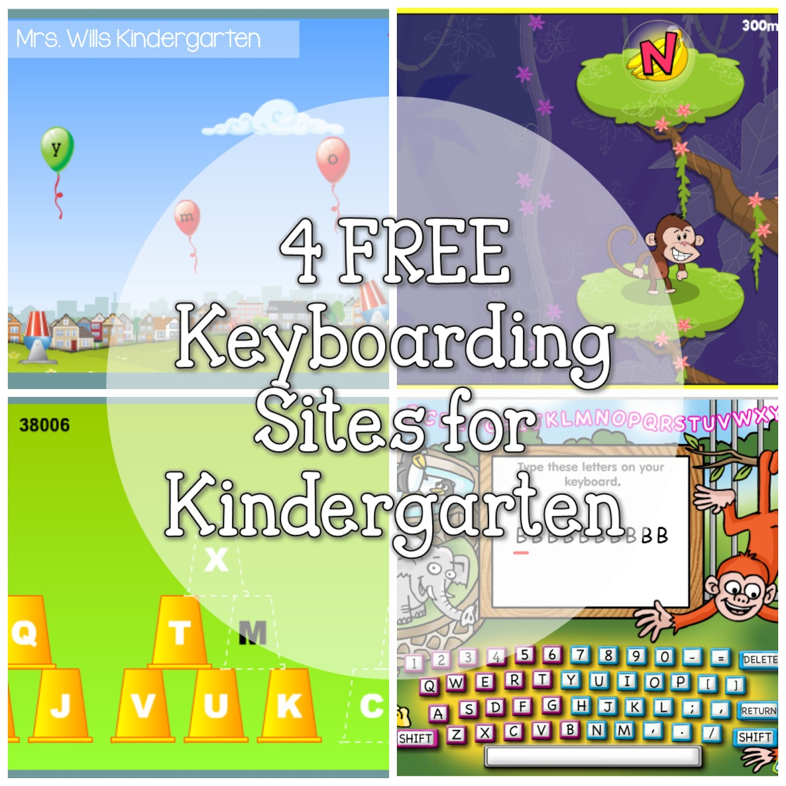 Mrs Wills Kindergarten 4 Free Keyboarding Sites For