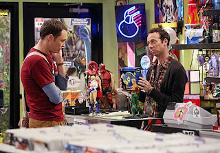 Sheldon e Kevin Sussman, o Stuart de The Big Bang Theory
