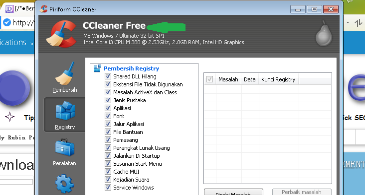 Free Downloaad CCleaner Update terbaru