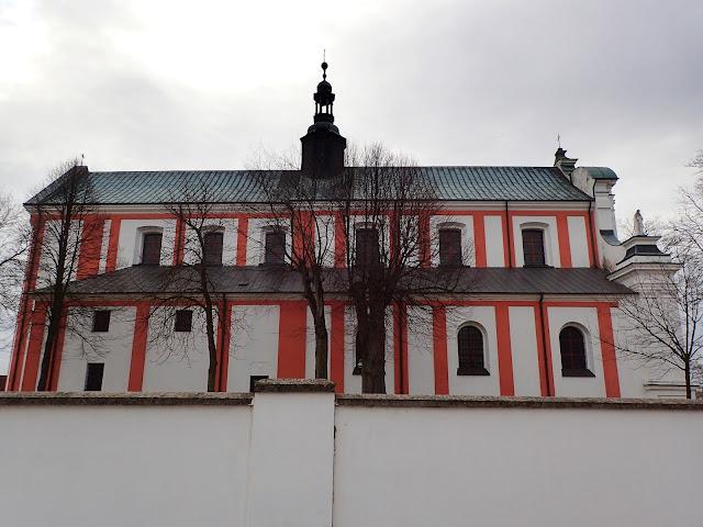 Pokartuski kościół (MB Bolesnej) w Gidlach