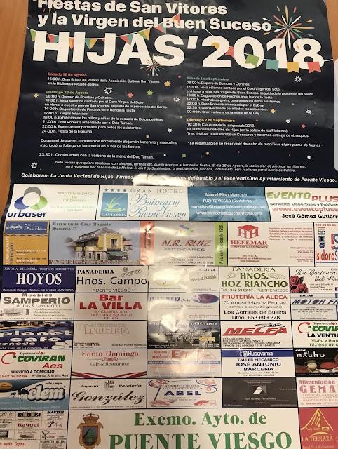 Fiestas de San Vitores y la Virgen del Buen Suceso en Hijas 2018