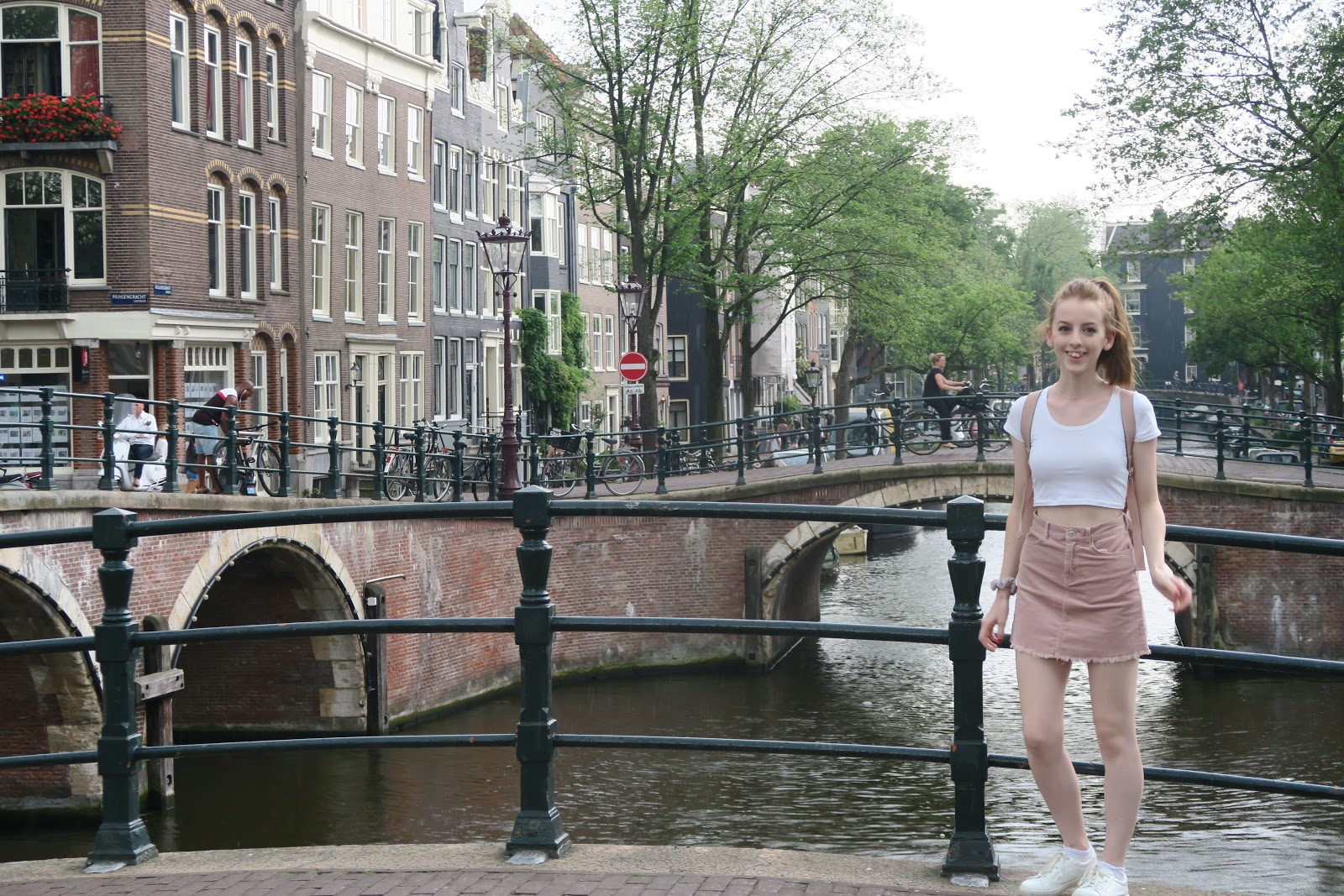 Me in Amsterdam