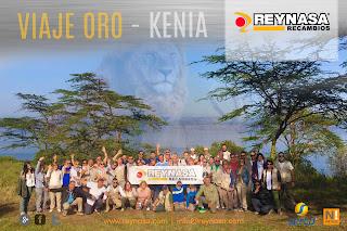 Reynasa lleva hasta Kenia a sus clientes en su Viaje Oro