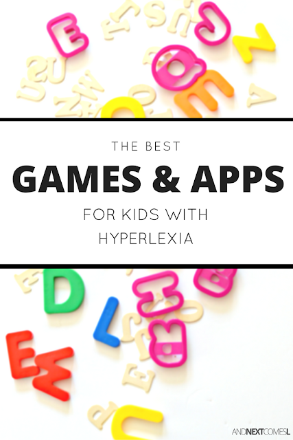 Games and apps to help kids with hyperlexia improve comprehension, speech, and social skills