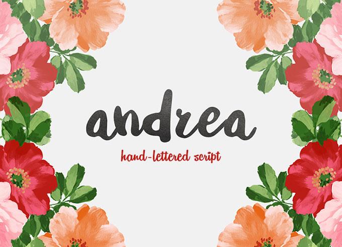 Andrea Script Free Font