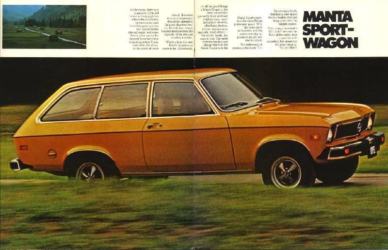 Opel 1900 wagon