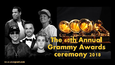 The 60th Annual Grammy Awards 2018 720p HDTV 600Mb x264
