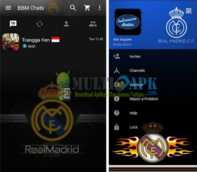 BBM Mod Real Madrid Terbaru Update Versi 2.13.1.14 Apk