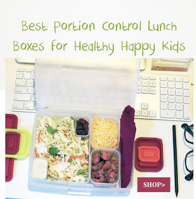 Best Portion Control Lunch Boxes for Healthy Happy Kids