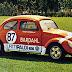 O inacreditável Fusca de dois motores dos irmãos Fittipaldi