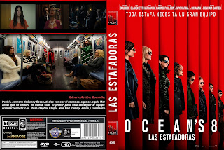 CARATULA OCEAN''S EIGHT - LAS ESTAFADORAS 2018