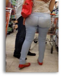 mujeres trasero redondo jeans