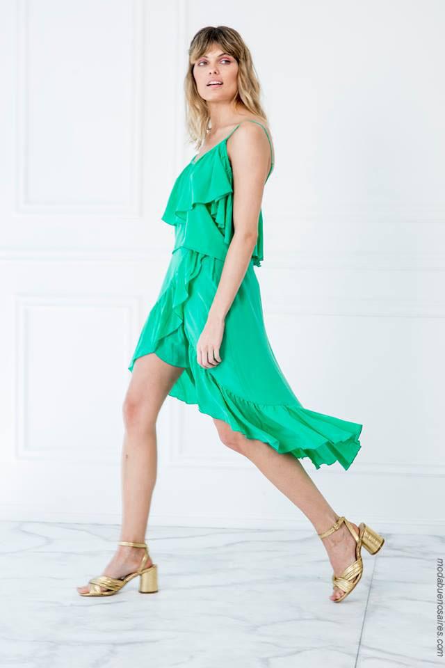 Moda mujer verano 2018. Vestidos de verano 2018.