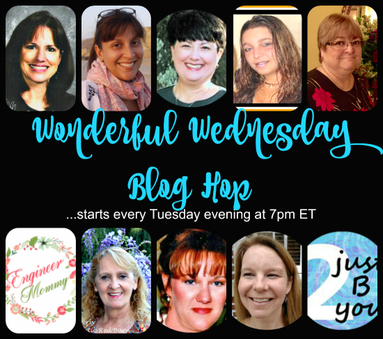 Come and join the Wonderful Wednesday Blog Hop and link up your favorite posts and look around for something you may be interested in.