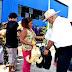 ARZOBISPO ENTREGA DONACIÓN A 3 MIL FAMILIAS DAMNIFICADAS DE RÍO SECO