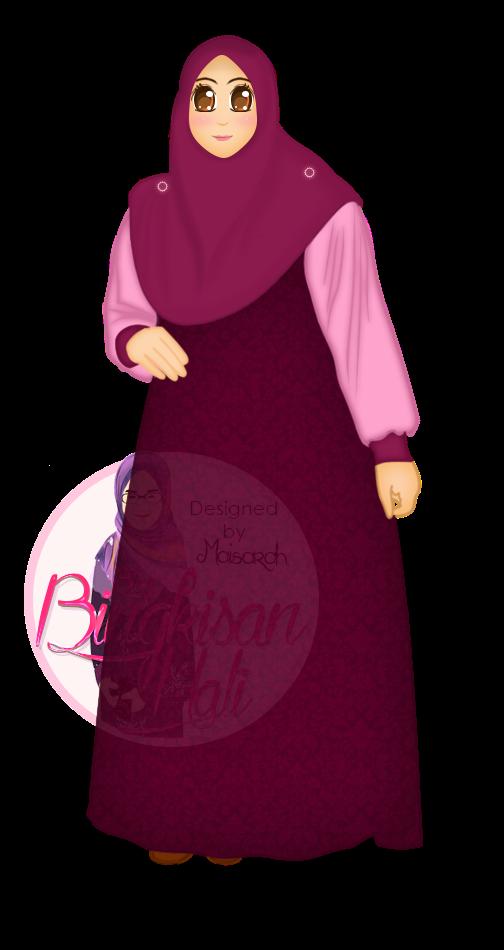 Blog Bingkisan Hati, tempahan design doodle murah, Tempahan Design Header Doodle, tempahan vector potrait murah,