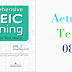 Listening Comprehensive TOEIC Training - Actual Test 08