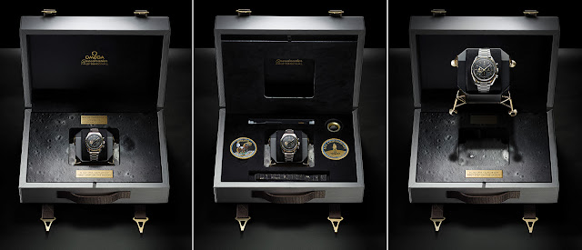 The box of the new Omega Speedmaster Apollo 11 50th Anniversary Limited Edition