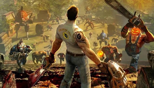 """""""Serious Sam 4: Planet Badass"""" Game phiêu lưu hành động 2019"""