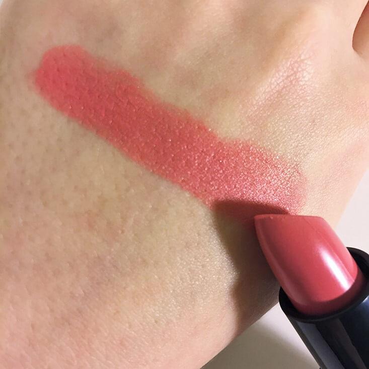 e.l.f. Moisturizing Lipstick Pink Minx swatch