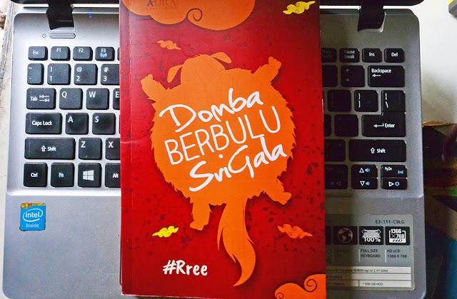 Novel Domba Berburu Srigala/ koleksi pribadi