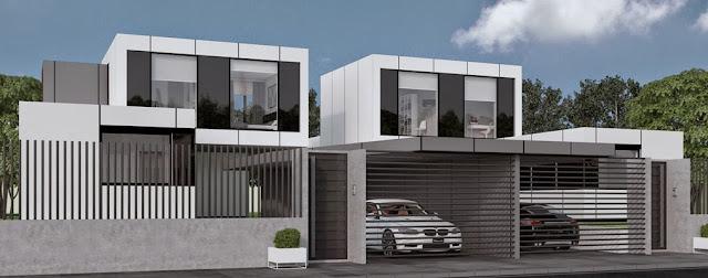 Vivienda modular pareada de Resan - Modelo J3