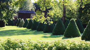 Jardines muy privados: Jardins du Château du Saillant en Francia