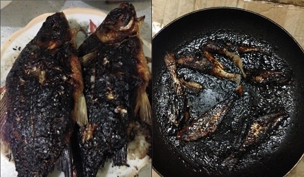 Daughter-in-law cooks her first meal at her husband's house