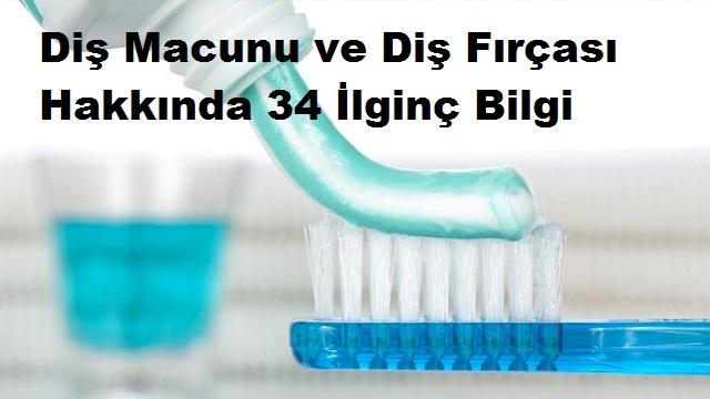 Diş Macunu ve Diş Fırçası Hakkında 34 İlginç Bilgi