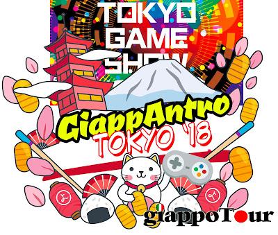 GiappAntro settembre 2018 Tokyo Game Show