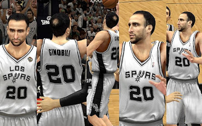 NBA 2K13 San Antonio Spurs Home Jersey